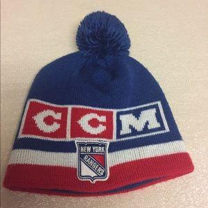 NY Rangers CCM old school hat.